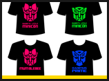 Transformer Family T-Shirt Designs