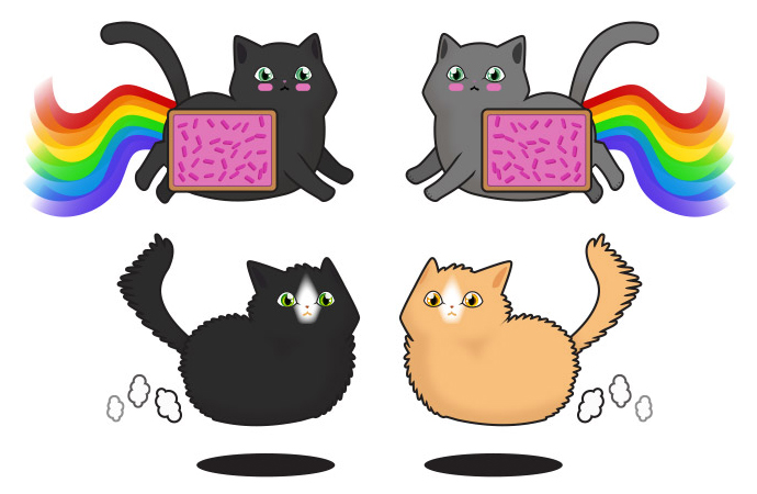 Cats - Nyan/Hover
